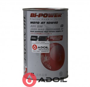 JAPAN OIL BI-POWER MOTO 4T 10W-40
