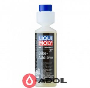 Присадка для топливной системы 2-тактных мото двигателей Liqui Moly Motorbike 2T Bike-Additiv