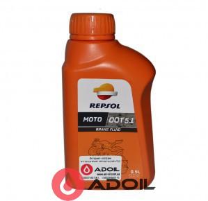 Тормозная жидкость Repsol Dot-5.1