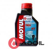 Motul Outboard Tech 4T Sae 10w-30