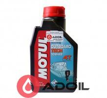 Motul Outboard Tech 4T Sae 10w-40