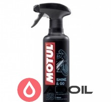 Чистящее средство на силиконовой основе Motul E5 Shine & Go