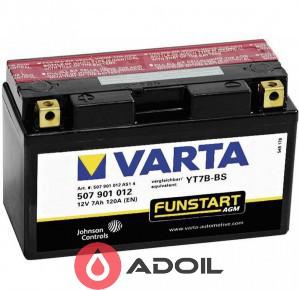 VARTA 507901012 7Ач 120 А(1) Fun Start AGM
