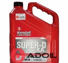 Kendall Super D-XA Premium Synthetic Blend Diesel Engine Oil Ti 10w30