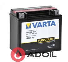 VARTA 518902026 18Ач 250А (1) Fun Start AGM