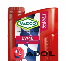 YACCO GALAXY COMPETITION RS 0W40