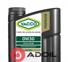 YACCO PREMIUM VX 2000 0W30