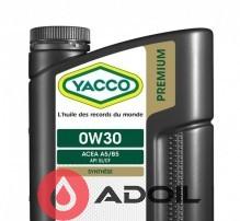 YACCO PREMIUM VX 1500 0W30
