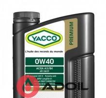 YACCO PREMIUM VX 1000 LL 0W40