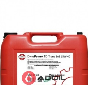 DynaPower Td Trans 15w40