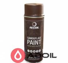 Маскировочная аэрозольная краска коричневый койот Recoil