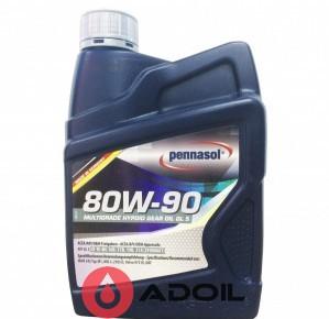 PENNASOL MULTIGRADE HYPOID GEAR OIL GL 5 80W-90