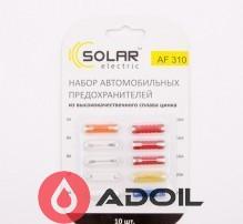 Предохранители блистер цилиндр Solar AF310