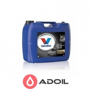 Valvoline Hd Axle Oil 75w-140