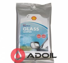 Салфетки для стекла SHELL GLASS WIPES 20шт