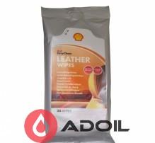 Салфетки для кожи Shell Leather Wipes, 20шт