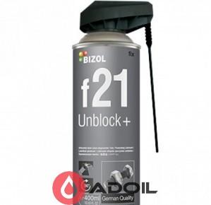 Растворитель ржавчины BIZOL Unblock+ f 21