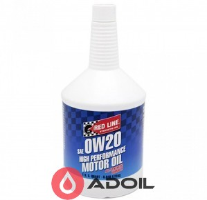 Red Line Oil 0w-20