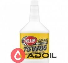 REDLINE OIL 75W85