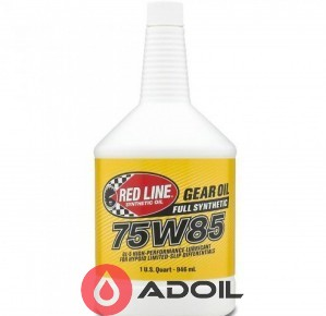 Red Line Oil 75w-85