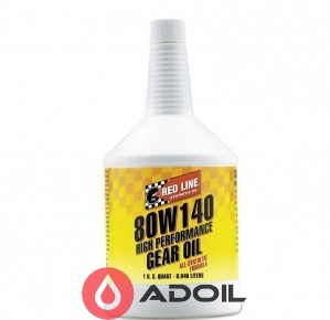 Red Line Oil 80w-140