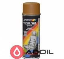 Фарба для фарбування шкіри коричнева охра Ral 8001 Motip
