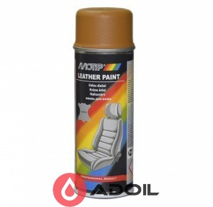 Краска для окрашивания кожи коричневая охра Ral 8001 Motip