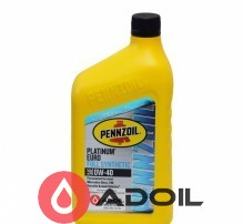 Pennzoil Platinum Euro 0w-40 Full Synthetic