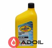 Pennzoil Platinum Euro 5w-40 Full Synthetic
