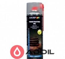Проникающее масло с содержанием графита и MoS2 Penetrating oil Motip