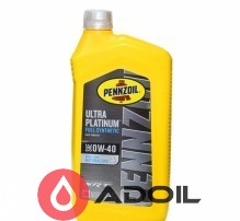 Pennzoil Ultra Platinum 0w-40 Fully Synthetic