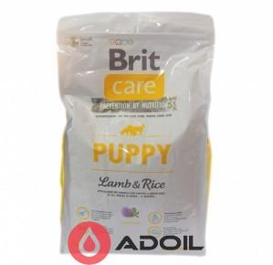 Корм сухой Брит Кэр Дог Паппи для молодых собак и щенков Ягнёнок и рис