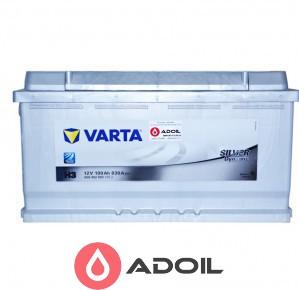 Varta 600402083 100Ач 830А(0) Silver Dynamic H3