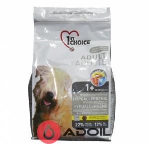 Корм сухой Фёст Чойс Дог Эдалт гипоаллергенный для взролых собак Утка и картофель