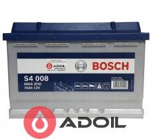 Bosch Silver S4 008 74Ah (0) 0 092 S40 080
