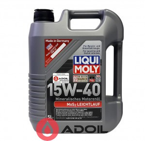Liqui Moly 15W-40 MoS2 LEICHTLAUF