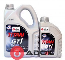 FUCHS TITAN GT1 PRO GAS 5W-40