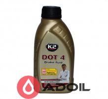 Тормозная жидкость K2 DOT 4