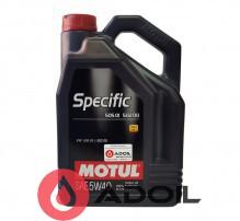 MOTUL SPECIFIC 505.01/502.00/505.00 5W-40
