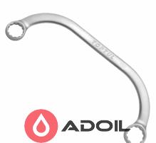 Ключ накидной с-образный 14*17 TOPTUL AAAC1417