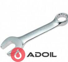 Ключ рожково-накидной короткий динамический 8мм TOPTUL AAAG0808
