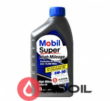 MOBIL SUPER HIGH MILEAGE 5W-30