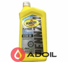 Pennzoil Platinum 5w-30 Fully Synthetic