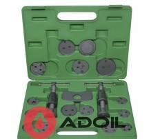 Комплект для обслуживания тормозных цилиндров 18 ед. (два винта) TOPTUL JGAI1801