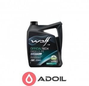 Wolf Officialtech 0w-20 Ls-Fe
