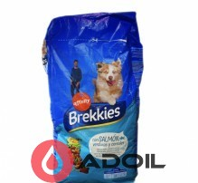 Сухой корм Brekkies Dog Salmon для собак всех пород с лососем и овощами