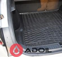 Коврик в багажник полиуретановый Tesla Model S