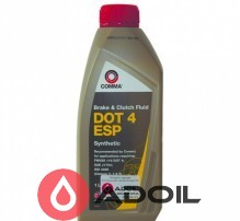 Comma Brake Clutch Fluid DOT 4 ESP