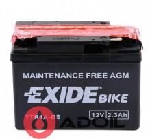 EXIDE YTR4A-BS