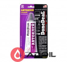 Клей-герметик прозрачный DoneDeal Glue & Sealant Automotive DD6870